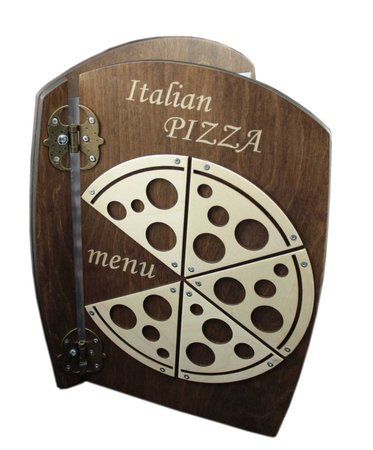 Holz Menu Italian Pizza