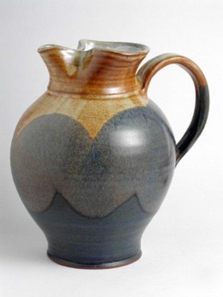 Wein,Wasserkanne aus Keramik 1,5L